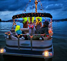Disco Night Boat by terrebo