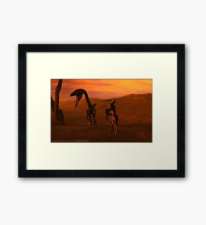 Attack Framed Print