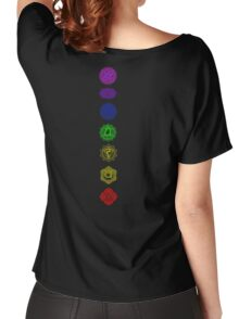 7 Chakra spiritual meditation Women's Relaxed Fit T-Shirt