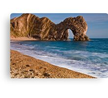 Durdle Dor - The Jurassic Coast World Heritage Site Series  Canvas Print