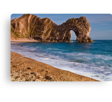 Durdle Dor - The Jurassic Coast World Heritage Site Series  Canvas Print
