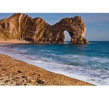 Durdle Dor - The Jurassic Coast World Heritage Site Series  Photographic Print