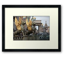 Griffins Bank Bridge Framed Print