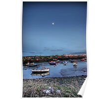 Moonlight over Paddys Poster