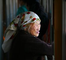 Mongolian Lady by Erland Howden