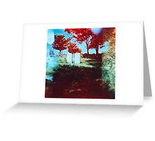 Lonely Headstones Greeting Card
