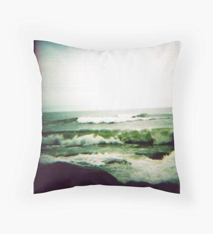 Bonnet Waves Throw Pillow