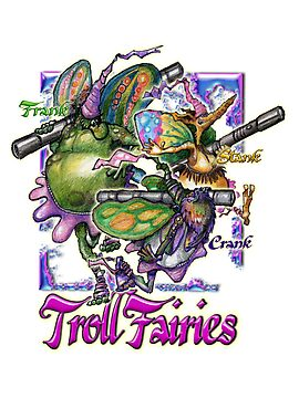 The Troll Fairy Trio by CWandCW2