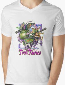 The Troll Fairy Trio Mens V-Neck T-Shirt