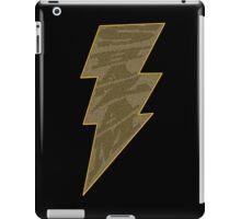 Shazam Black iPad Case/Skin