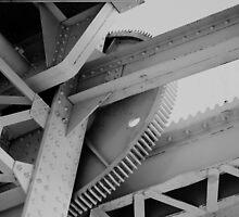close up of pegasus bridge by anfa77