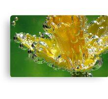 Blown Glass Daffodil Canvas Print