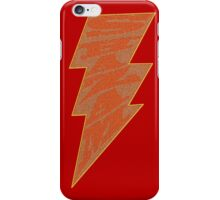 Shazam Red iPhone Case/Skin