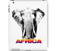 africa elephants iPad Case/Skin