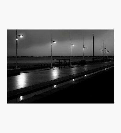 Bridlington Dusk Photographic Print