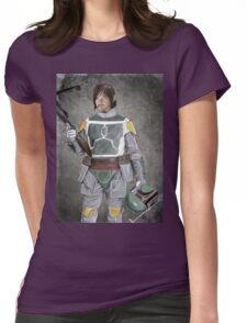 Daryl Fett : Zombie Hunter (Variant A) Womens Fitted T-Shirt