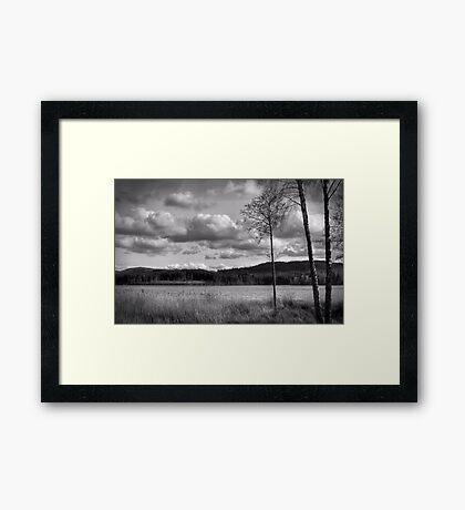 Lochside Framed Print