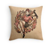DUH! - Print Throw Pillow