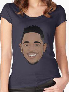 Kendrick Lamar - Cartoon Women's Fitted Scoop T-Shirt