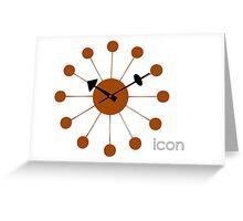 Nelson Ball Clock Greeting Card