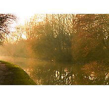 Early Evening in Late Autumn  Photographic Print