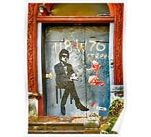 Bob Dylan Looking At Me Poster