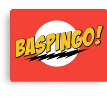 Baspingo Canvas Print
