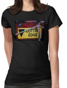 Cutting Edge - Farm Equipment Photograph Womens Fitted T-Shirt