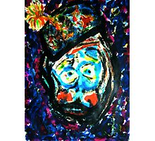The Unhappy Clown Photographic Print