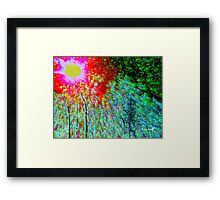 Landscape on Acid Framed Print