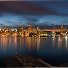 Vancouver Skyline by K W