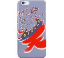 Akuma Paintbrush White iPhone Case/Skin