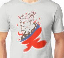 Akuma Paintbrush White Unisex T-Shirt