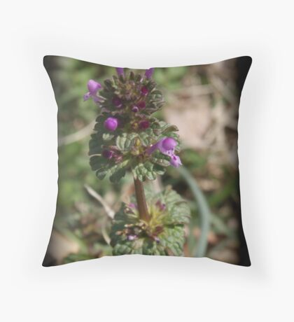 weeds can be pretty! Throw Pillow