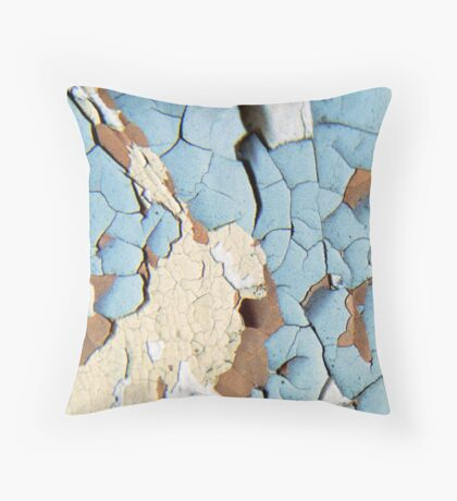 Battlefield of Shattered Dreams Throw Pillow