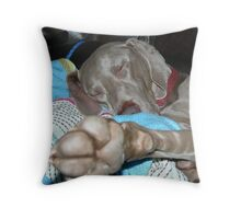 Zzzzzzzzzzzzzzzzzzz Throw Pillow