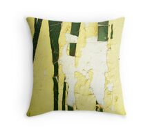 Broken Paragons Throw Pillow