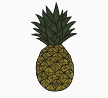 Pineapple Sticker by tosojourn