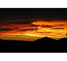 Sunset After Storms Photographic Print