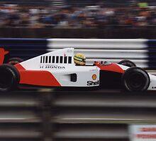 Ayrton Senna - 1991 Formula 1 British Grand Prix by madkarter3431