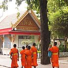 Sisaket Monks by OTOFURU