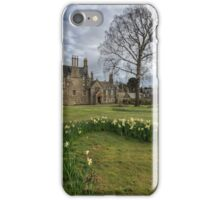 Lauriston Castle Portrait iPhone Case/Skin