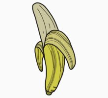Banana Sticker by tosojourn