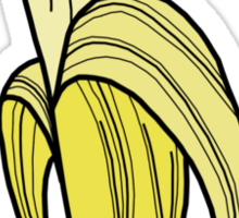 Banana Sticker Sticker