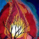 Fiery Tree by WienArtist