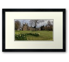 Panoramic View of Lauriston Castle Framed Print