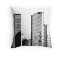 Silver Dream 2 Throw Pillow