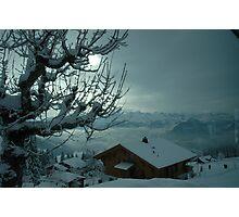 Mt Rigi Chalet Photographic Print