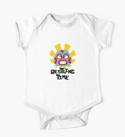 Wrestling Time One Piece - Short Sleeve