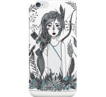 Huntress blue iPhone Case/Skin